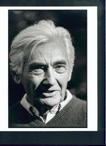 Howard Zinn Portrait