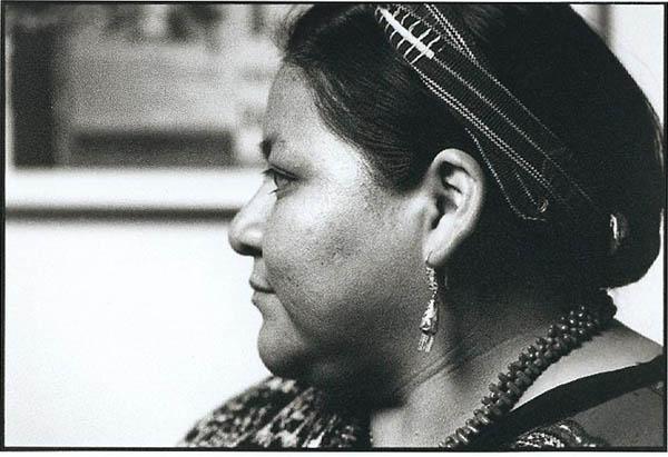 Rigoberta Menchu Portrait