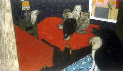 Bedroom by Catherine Ryan