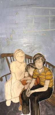 One Boy One Girl One Drawing by Catherine Ryan