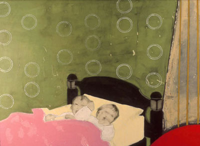 Two Boys in Bed by Catherine Ryan