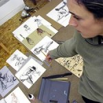In the Studio with Painter Kim Frohsin