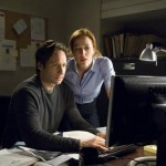 Mulder and Scully in X Files