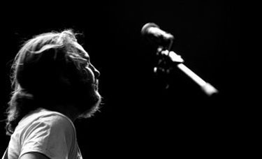 Musician Matthew Gray performing