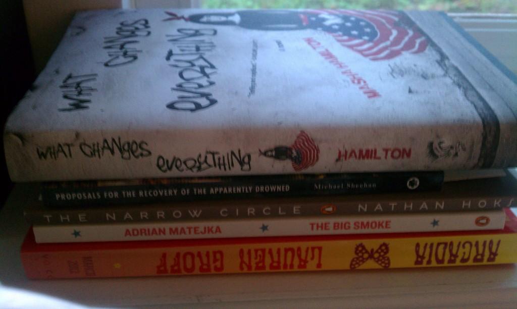 Late Summer 2013 reading list books