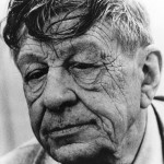 W.H. Auden's face