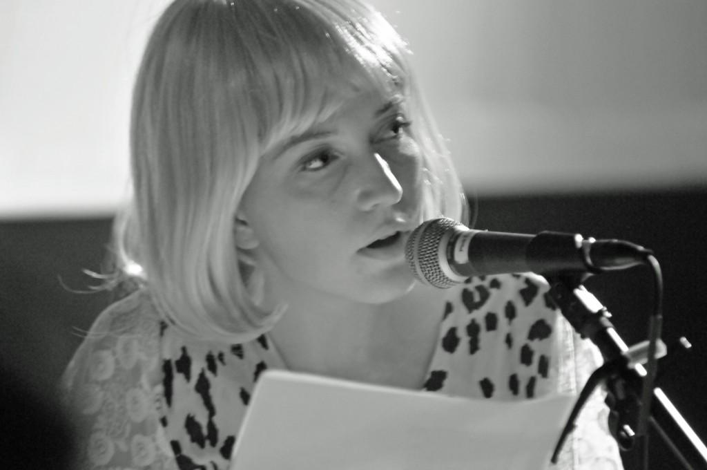 Poet Jillian Weise