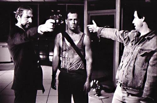 Bruce Willis in Die Hard