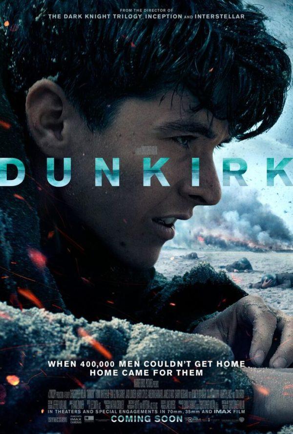 Poster for the Christopher Nolan film Dunkirk