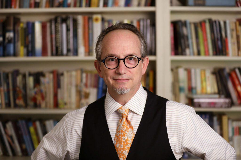 Alan Michael Parker author photo