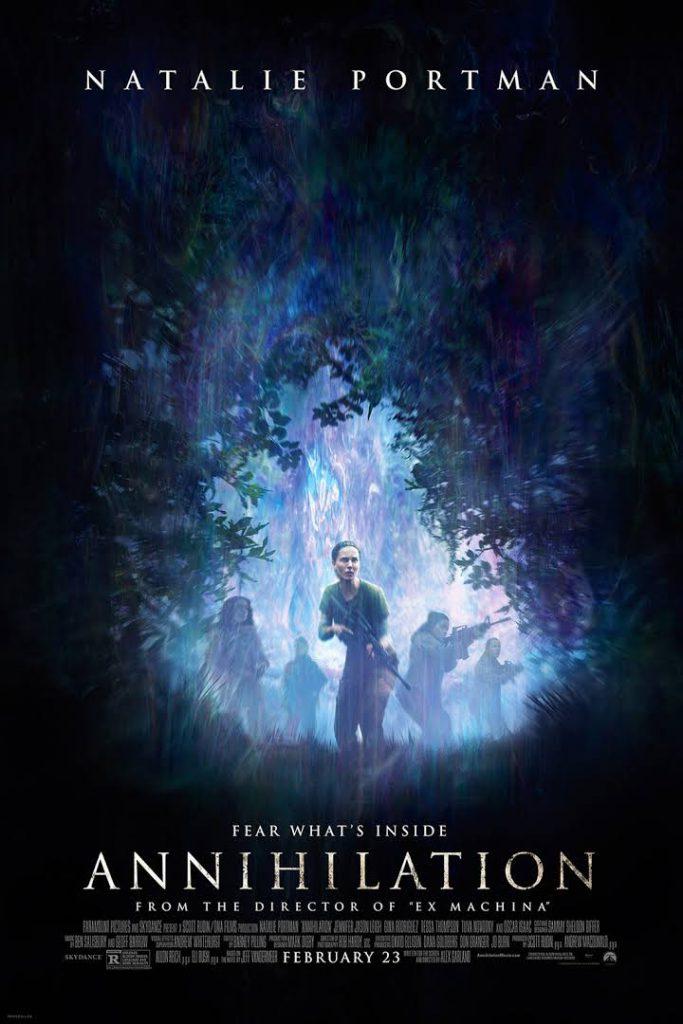 Annihilation film cover