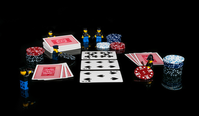 Police poker by wwarby on Flickr
