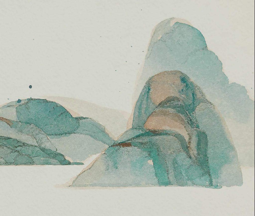 Burying the Mountain by Shangyang Fang